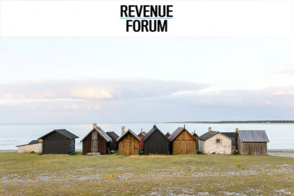 Picture of Gotland houses and Revenue Forum logo