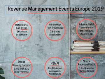 Revenue Management Events in 2019