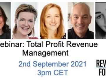 Taktikon Webinar: Total Profit Revenue Management